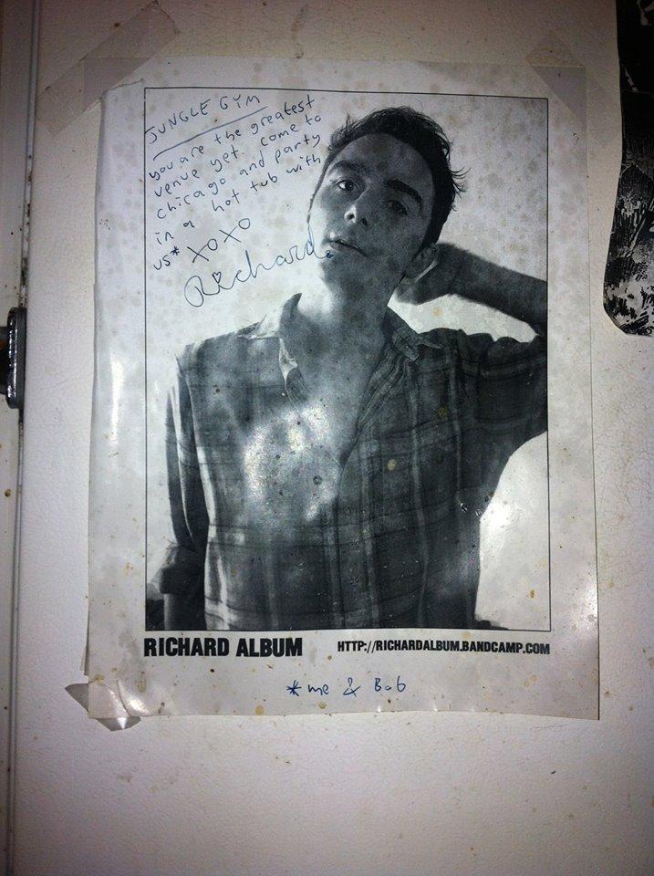 Richard Album being kind.