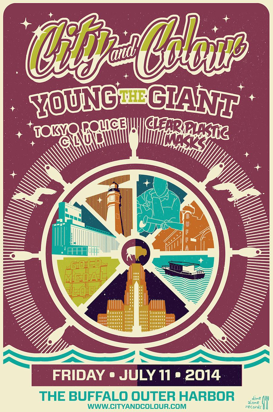 Tonight: City and Colour, Young the Giant, and Tokyo Police Club