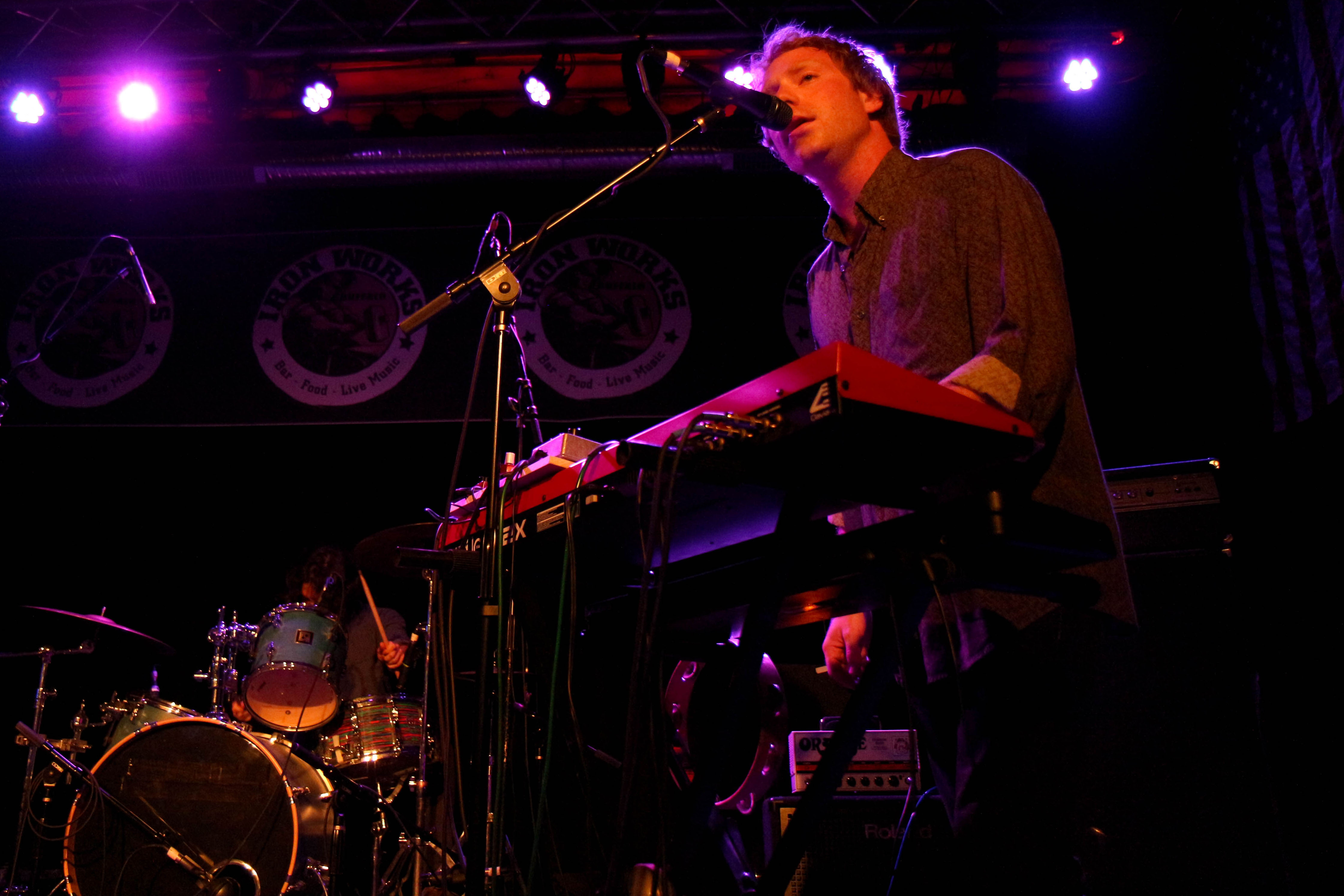The Tins Album Release Show at Buffalo Iron Works (7/11/14)