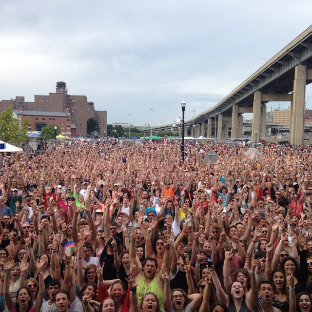 Kerfuffle at Canalside (7/26/14)