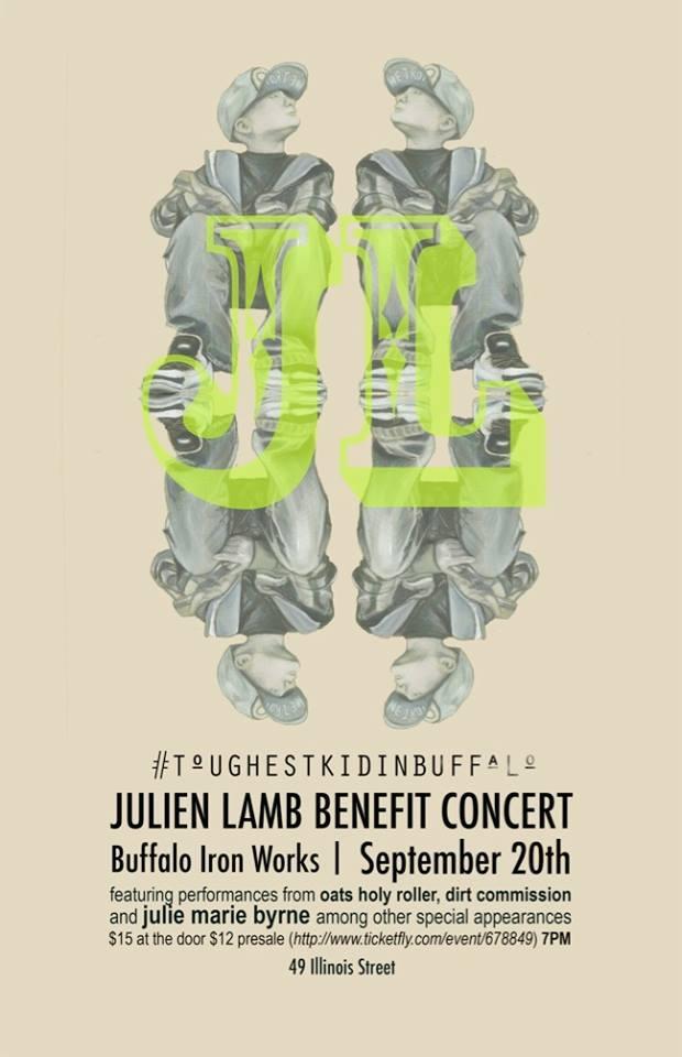Tonight: Julien Lamb Benefit Concert