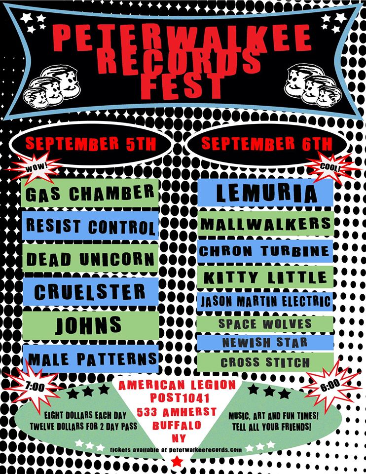 Tonight: Peterwalkee Records Fest – Day Two