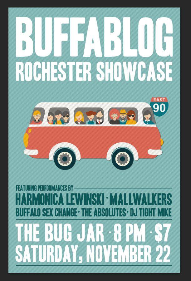 Tonight: buffaBLOG Rochester Showcase