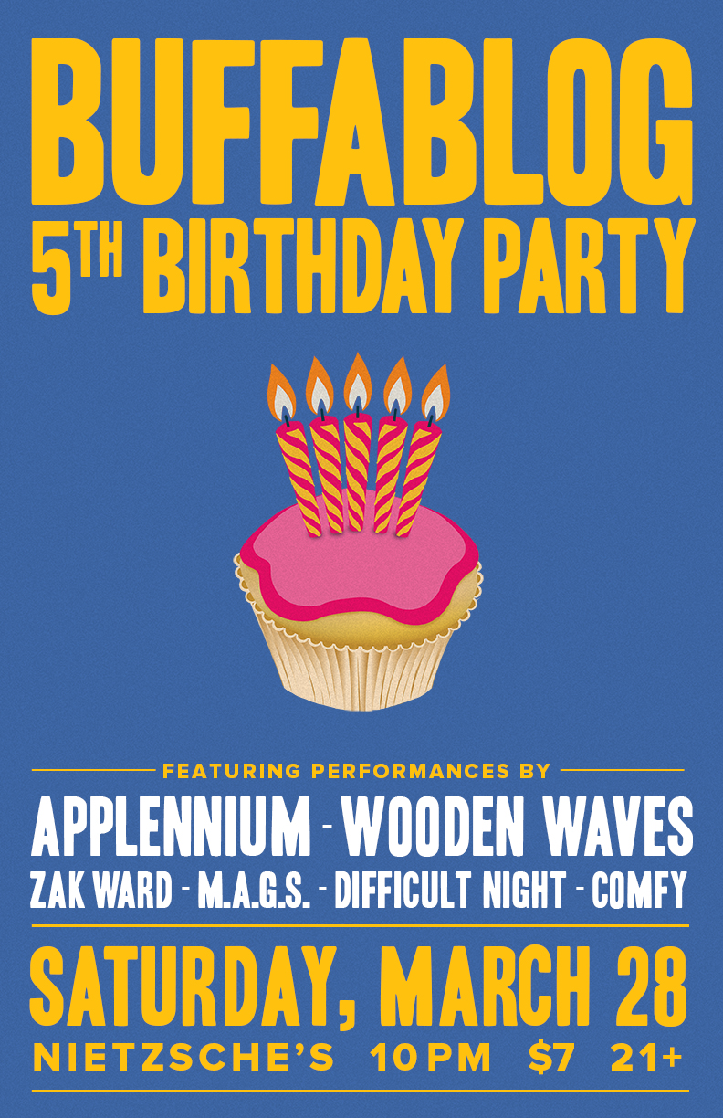 Just Announced: buffaBLOG 5th Birthday Party