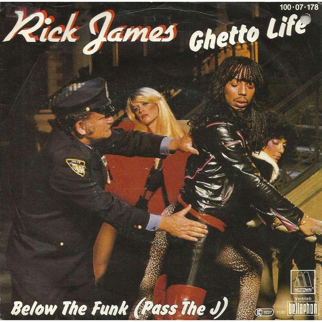 """Rick James – """"Below The Fun (Pass The J)"""""""