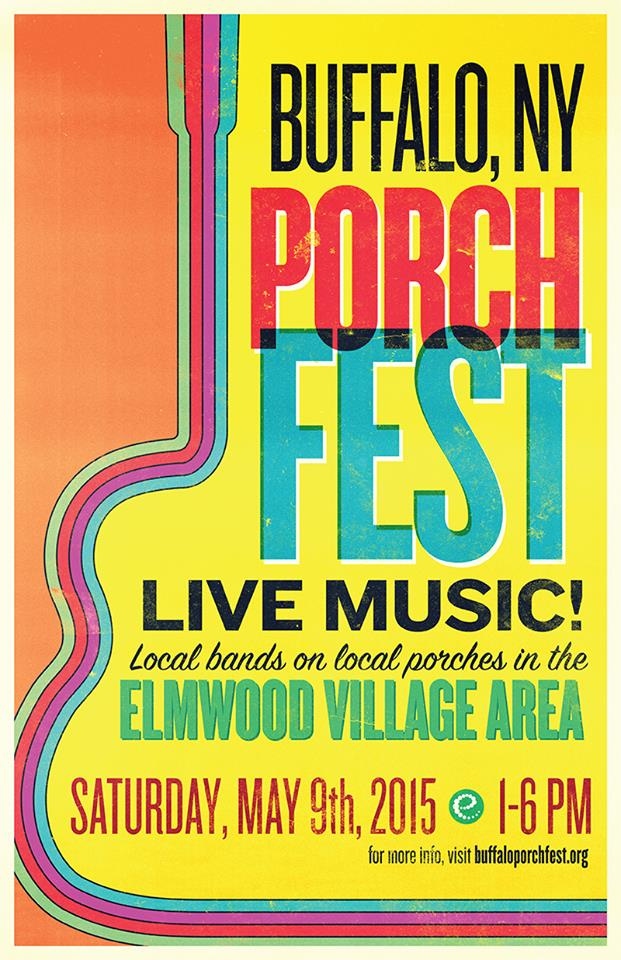 Buffalo Porchfest Continues to Seek Bands, Porches