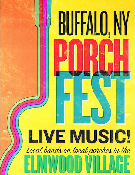 Buffalo Porchfest Again Seeks Bands, Porches