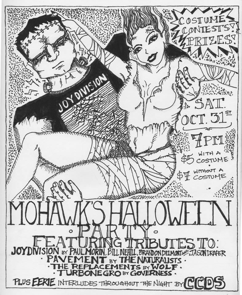 Tonight: Halloween Tribute Party