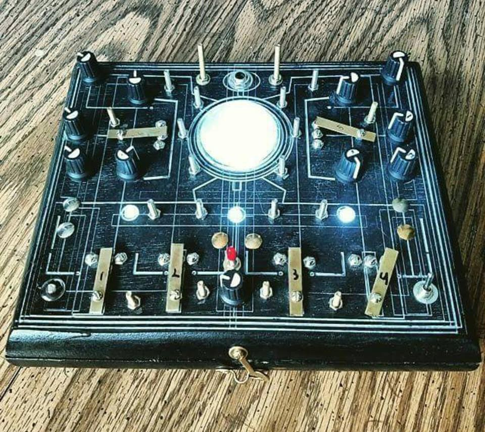 Sound Devices: Why Andy Czuba Loves His Om-Bot Psychic Cell Doom Wave Fold Noise Synth