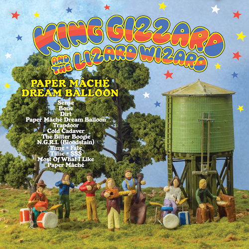 King Gizzard and the Lizard Wizard – Paper Mâché Dream Balloon
