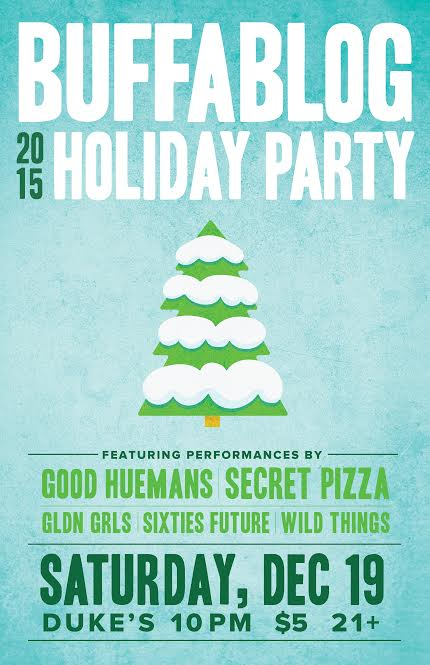 Tonight: buffaBLOG Holiday Party