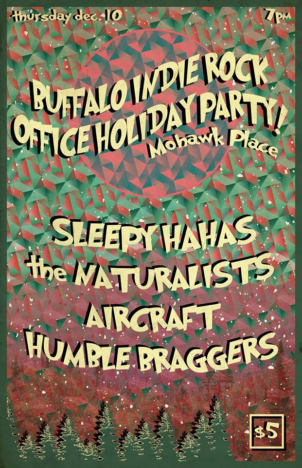 Tonight: Indie Rock Office Holiday Party