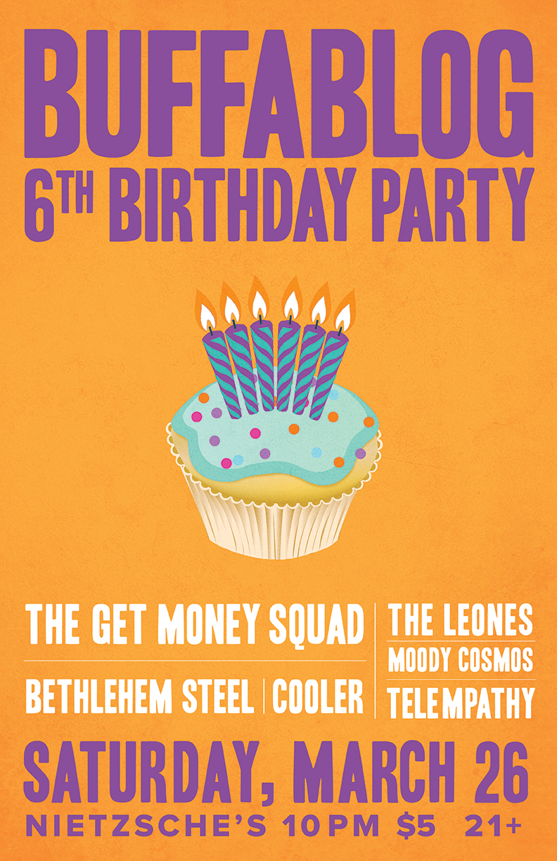 Tonight: buffaBLOG's 6th Birthday Party