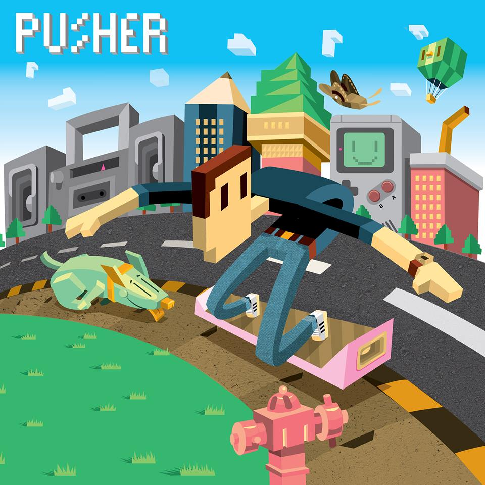 """Pusher – """"Clear (ft. Mothica)"""""""