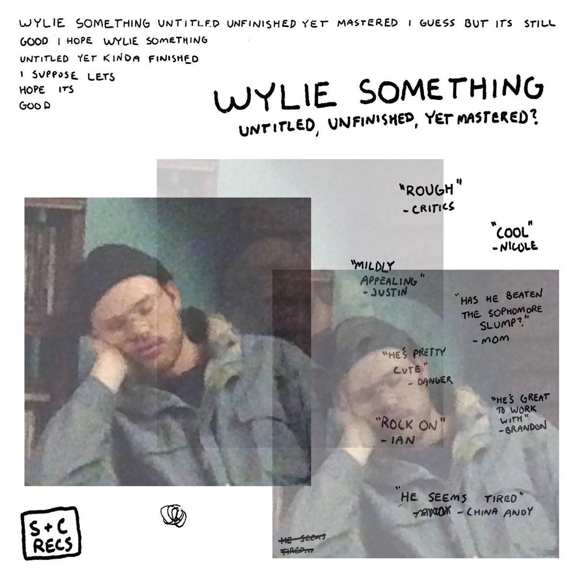 Wylie Something –  untitled, unfinished, yet mastered?
