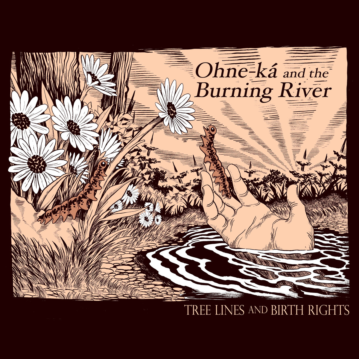 """Syracuse Act Ohne-Ká and the Burning River Release Apocalyptic Instrumental, """"Where the Forest Ends"""""""
