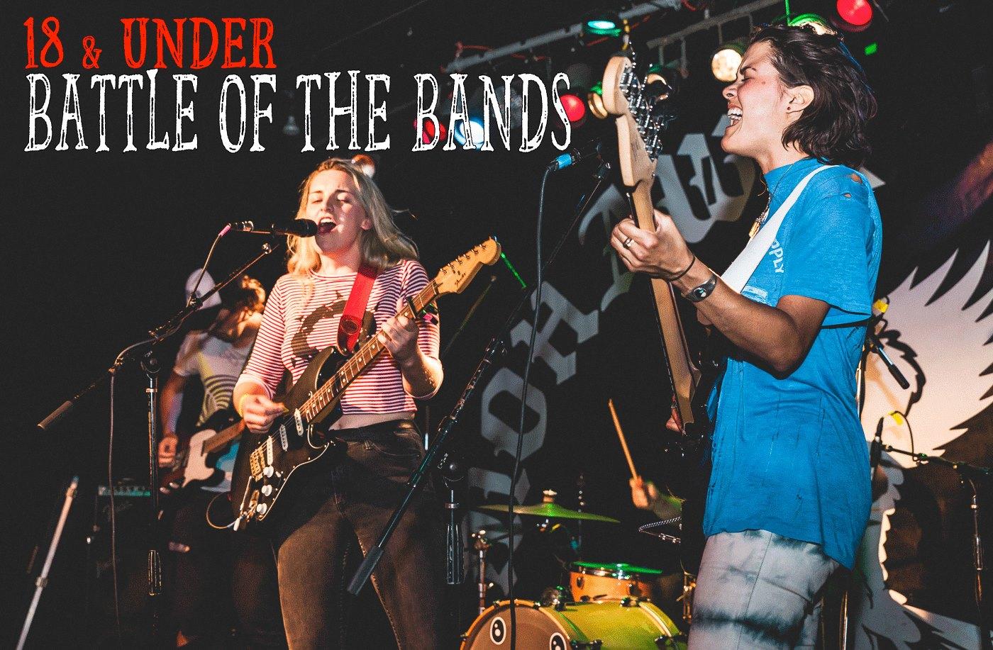 18 & Under Battle of the Bands Registration Starts Sunday