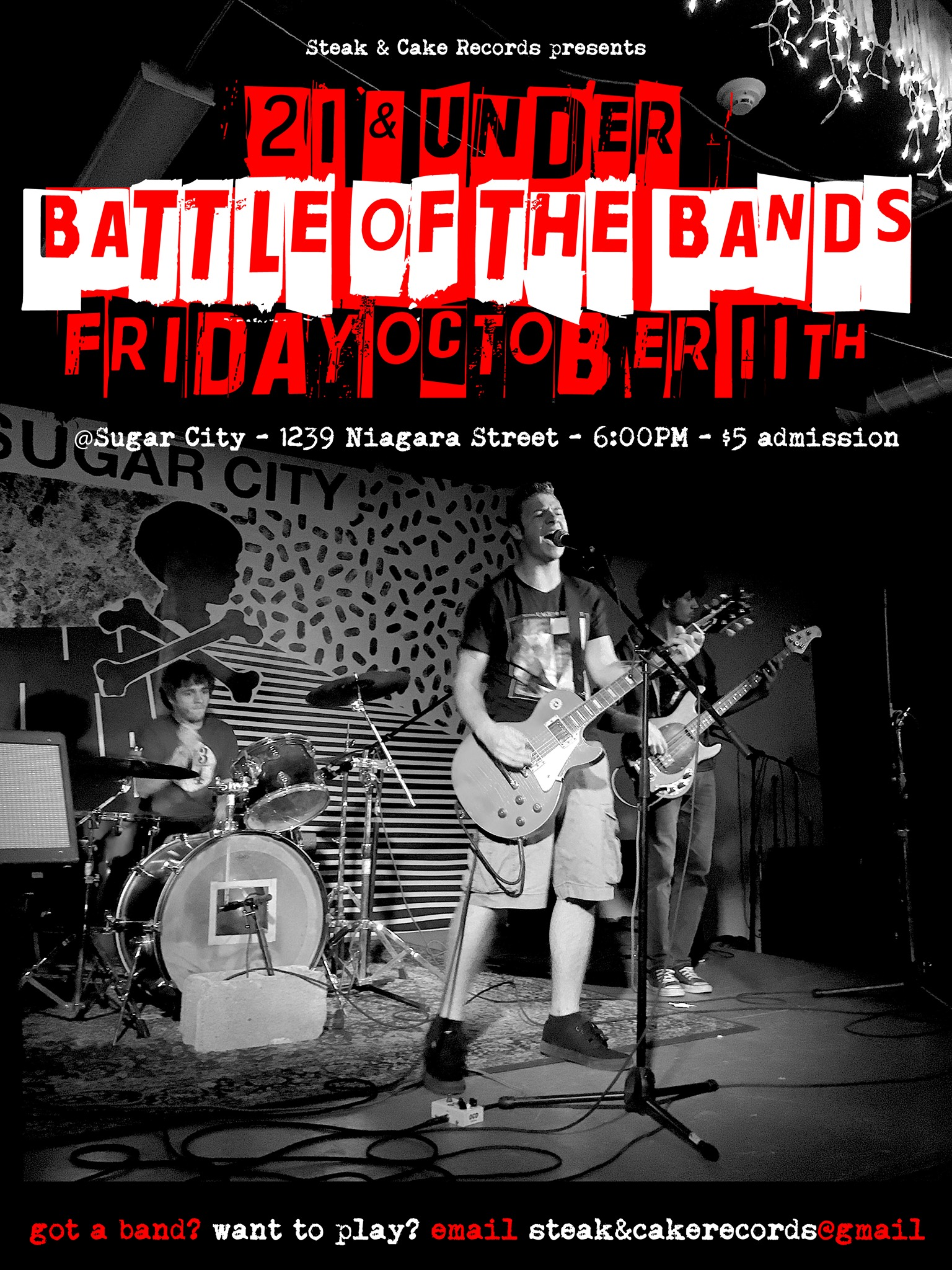 Tonight: 21 & Under Battle of the Bands