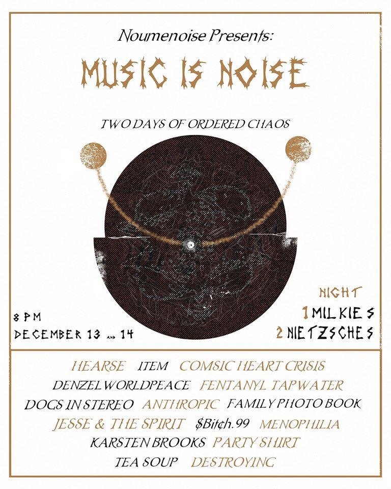 Tonight; Music Is Noise