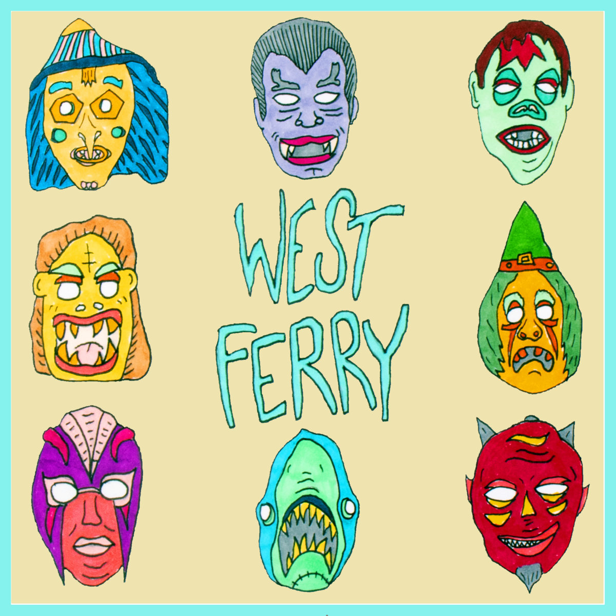 West Ferry Releases New s/t EP